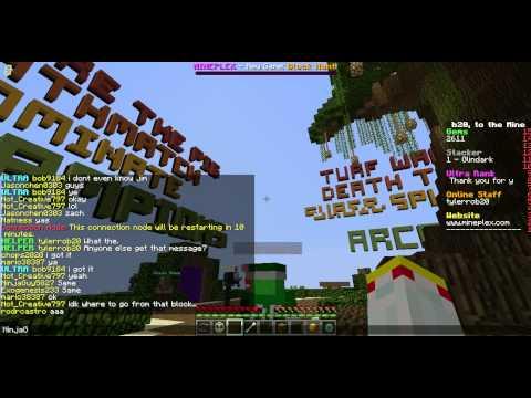 NinjaGuy5827, Fly Hacks in Mineplex