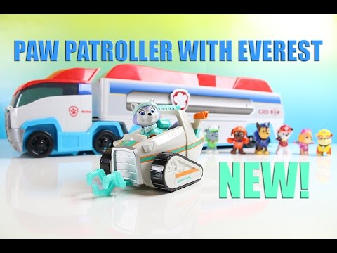 Paw Patroller Toy Paw Patrol Toy Review with Everest Toy NEW!