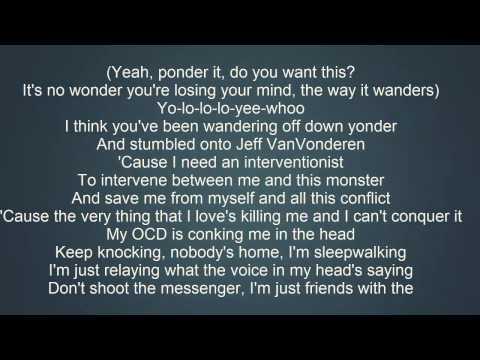 Eminem - The Monster ft. Rihanna Lyrics [ WITH SONG ]