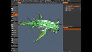 3D-coat スピードリトポロジング練習  3Dcoat speed retopologying practice thumbnail