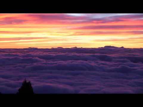Epic Sunset Above the Clouds - Haleakala National Park  Maui