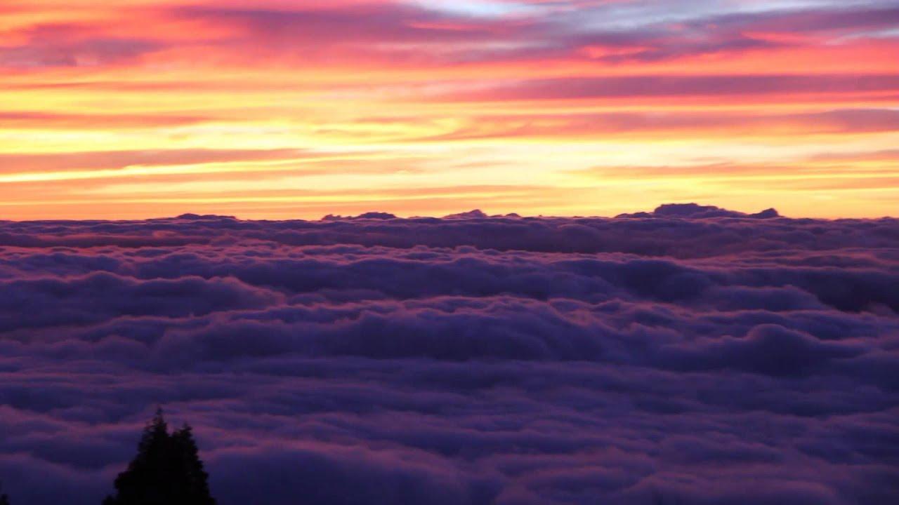 Epic sunset above the clouds haleakala national park maui youtube publicscrutiny Gallery