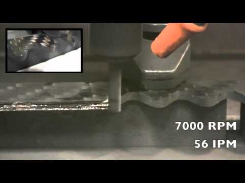CFRP Carbon Fiber Milling w/ RoundTool D2 CVD Diamond coated End Mills