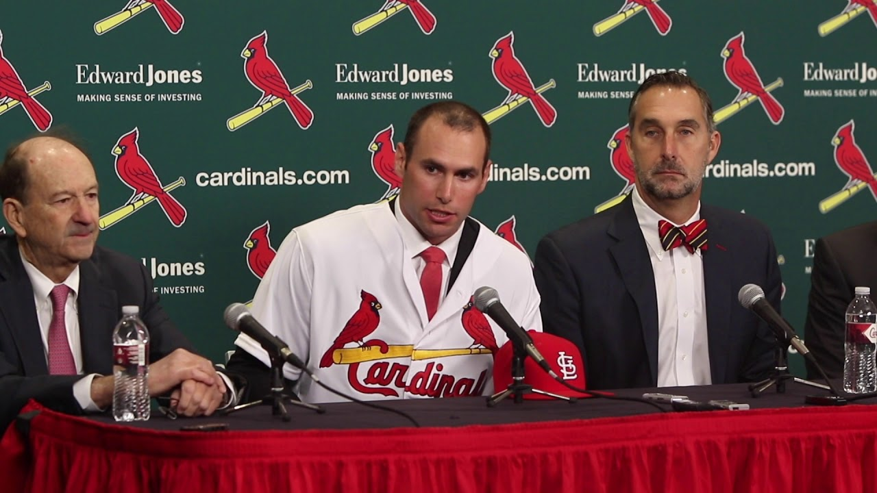 St. Louis Cardinals introduce Paul Goldschmidt as new first baseman ... 6b669cdf0