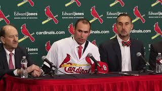 St. Louis Cardinals introduce Paul Goldschmidt as new first baseman