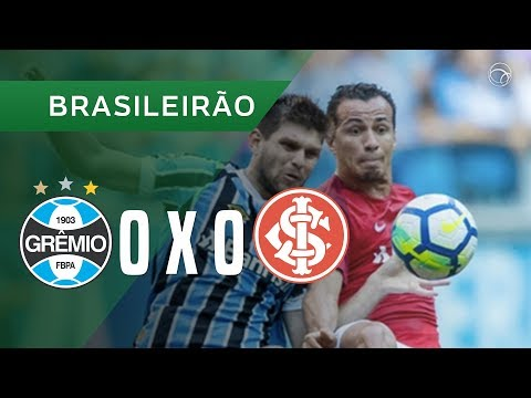 GRÊMIO 0 X 0 INTERNACIONAL - 12/05 - BRASILEIRÃO 2018