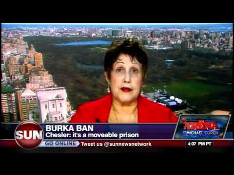 Burka ban - Phyllis Chesler & Michael Coren