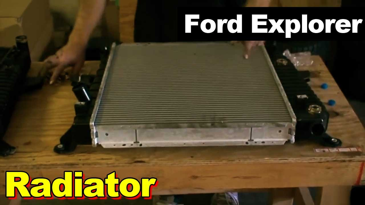 1995 Ford Explorer Radiator Youtube