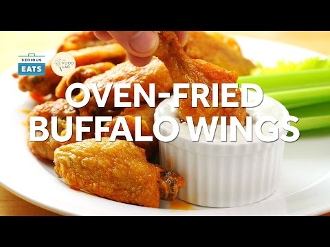 The Best Oven-Fried Buffalo Wings