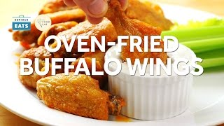 The Best Oven-Fried Buffalo Wings