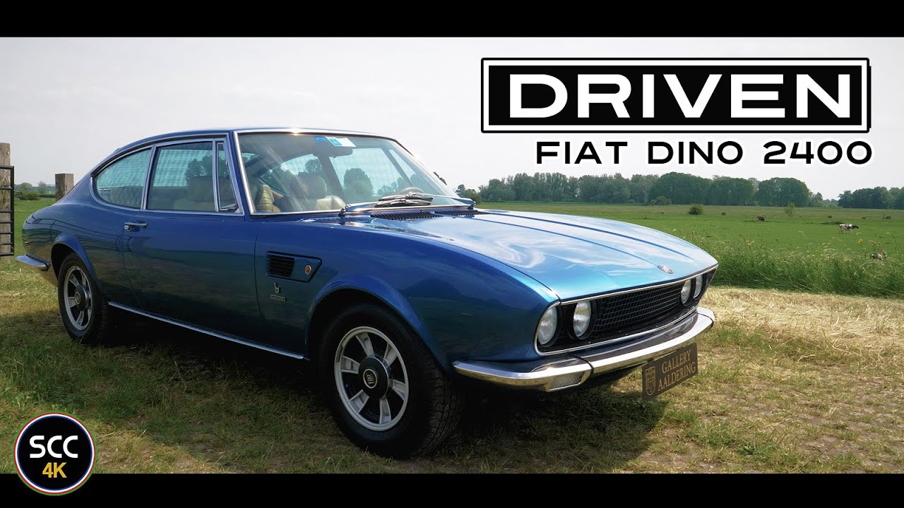 Fiat Dino 2 4 Coupé 2400 1973 4k Test Drive In Top Gear With V6 Engine Sound Scc Tv Youtube