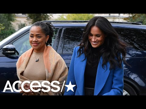Meghan Markle's Mom Returns To The U.S. After Being An 'Indispensable' Help With Baby Archie | Acces