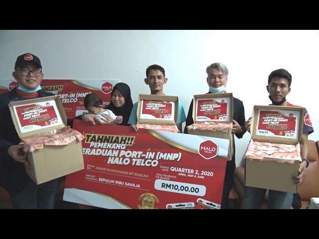 Pemenang Rm19,000 wang tunai untuk Anugerah peraduan Port In terbanyak