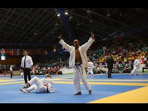 Historical Competation of Yared Negusse in the World Ju-Jitsu Championships, Poland 2016