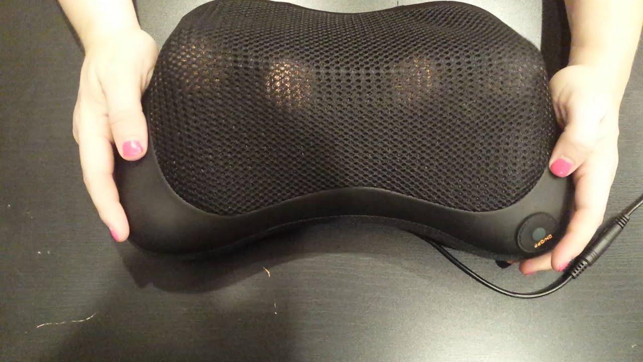 Nekteck Shiatsu Deep Kneading Massage Pillow With Heat Car Office Chair  Massager, Neck, Shoulder And