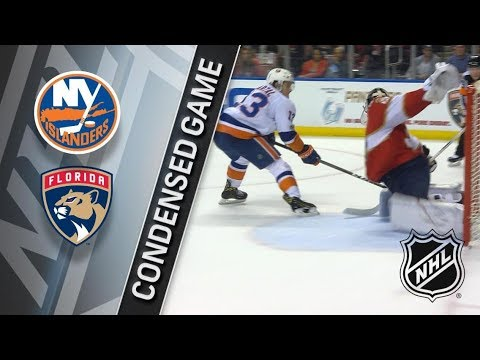 New York Islanders vs Florida Panthers – Dec. 04, 2017 | Game Highlights | NHL 2017/18. Обзор матча