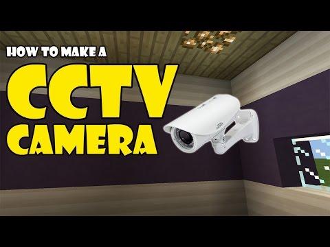 CCTV CAMERA tutorial   Minecraft PE (Pocket Edition) MCPE