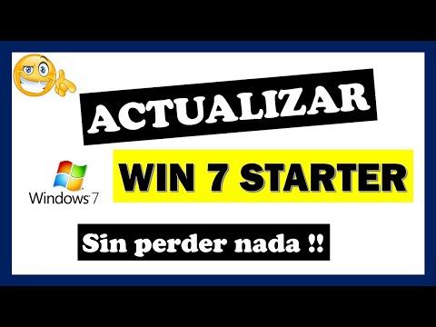 Como actualizar Windows 7 Starter a Home Premium, Professional ó Ultimate