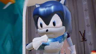 PAINTING SONIC SILVER - Hello Neighbor Mod