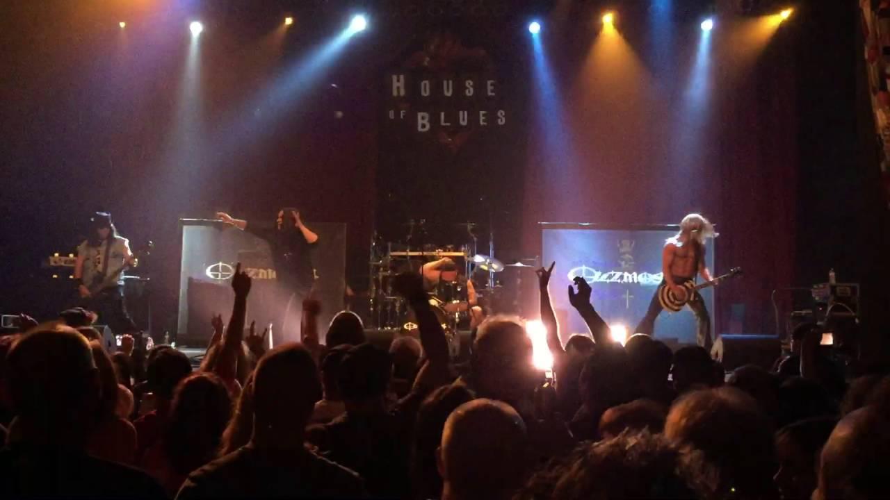 ozzmosis house of blues dallas 8-13-16 - youtube