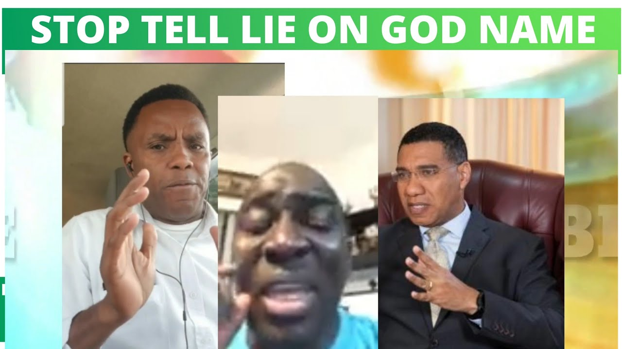 PETER CHAMBERS TELLING LIES ON GOD- MAN DEFENDS ANDREW HOLNESS