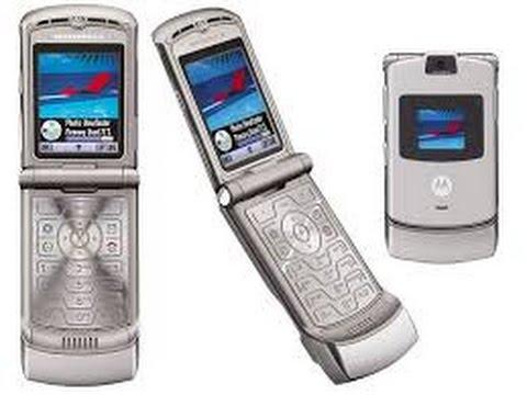 Motorola V3 ringtones on Nokia AS(5140)