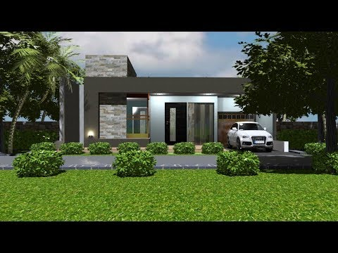 Simple  budget house plan || 3 bedroom small house design