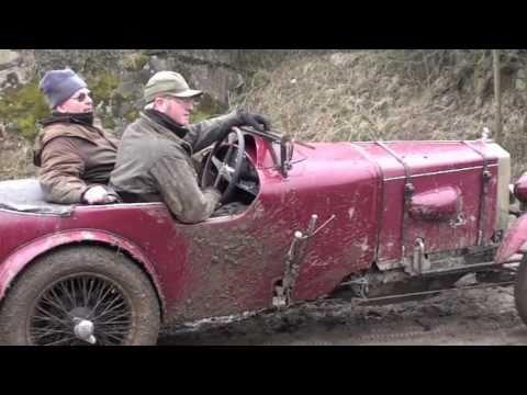 Ashover vintage car hill climb