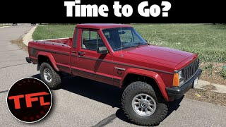 SOLD! It's Time To Say Goodbye To our 1988 Jeep Comanche, But...