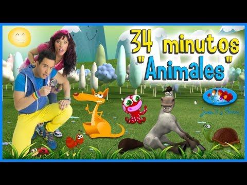 """Canciones Infantiles - Canciones de Animales. JUAN """"D"""" y BEATRIZ ♪♪"""