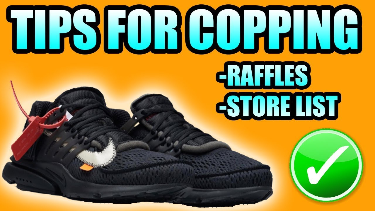 sneakers for cheap 7c4c6 cd55d Tips For Copping The BLACK OFF WHITE PRESTO ! | Black Off White Presto  Raffles + Store List