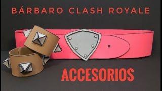 Accesorios Barbaro Clash Royale y Clash of Clans