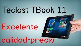 Teclast Tbook 11, la mejor tablet con Windows 10 en calidad-precio (4GB RAM, 1080p)