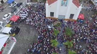 MJ.DRONE APRESENTAR MISSA NA IGREJA CATÓLICA DO ROSA-ELZE 15/9/19