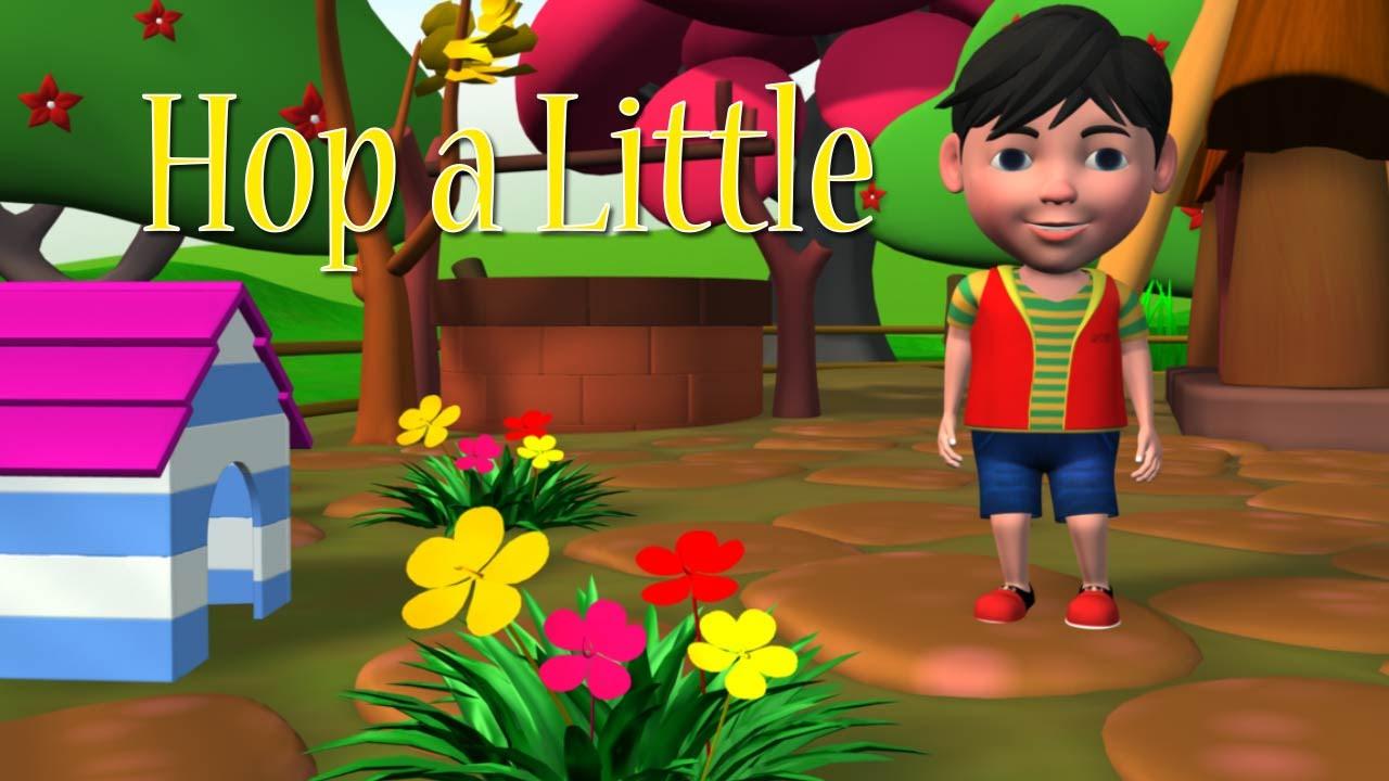 5cf09a146a97 HOP A LITTLE JUMP A LITTLE NURSERY RHYMES - YouTube