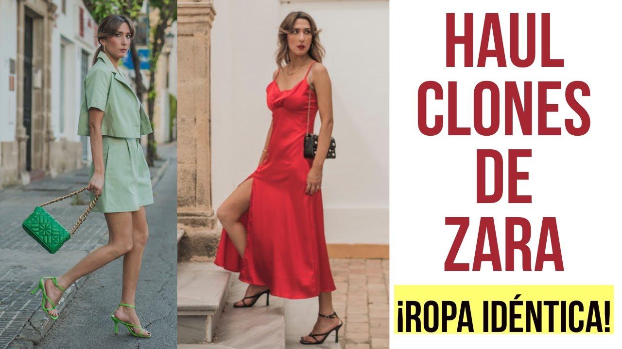 MODA: Haul de ZARA - CLONES IDENTICOS tendencias verano