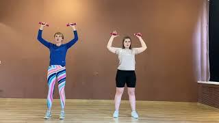 Тренировка для людей с большим весом Тренировка для похудения в домашних условиях Тренировка рук