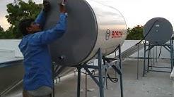 BOSCH Solar Water Heater Installed at Dhule Maharashtra India