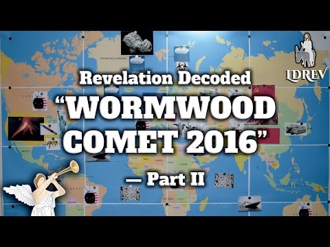 Wormwood Prophecy 2016 - Planet X Star Nibiru, Plant, Tea and Herb Explained in Bible Revelation 8