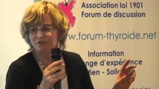 Partie 2 / Conférence de Beate Bartès, la présidente et fondatrice de Vivre Sans Thyroïde