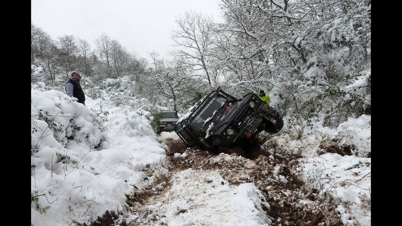 SNOW OFFROADING Land Rover Discovery & Defender & Rrc Trayback