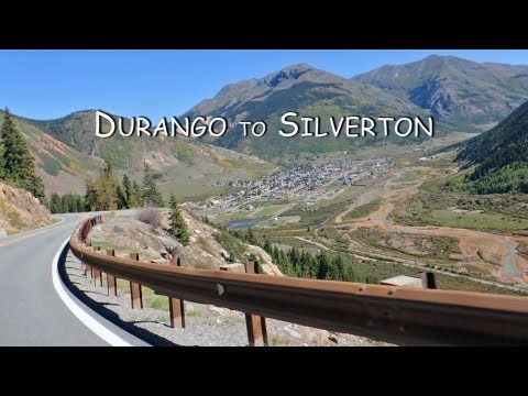 Colorado Motorcycle Trip: San Juan Mountain Skyway, Durango to Silverton