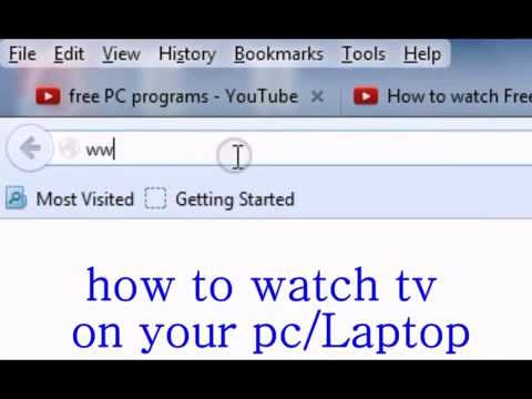 how to watch youtube on tv from laptop