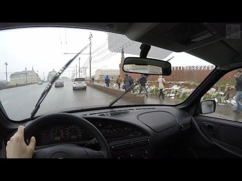 Chevrolet Niva LE - FPV Driving in 4k (Moscow) / Безмолвная поездка в 4k на Шевроле Нива (3840х2160)