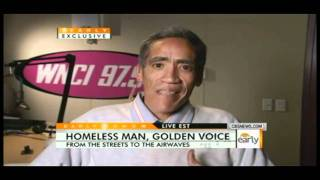 """Ted Williams """"Man with Golden Voice"""" Was a Bum, Now a Online Sensation! (FULL STORY)"""