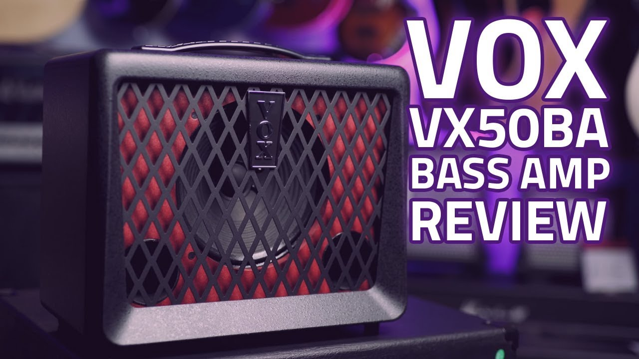 vox vx50ba bass guitar amp review a highly portable small bass amp youtube. Black Bedroom Furniture Sets. Home Design Ideas