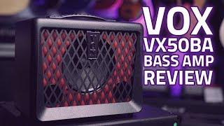 Vox VX50BA Bass Guitar Amp Review -  A Highly Portable, Small Bass Amp