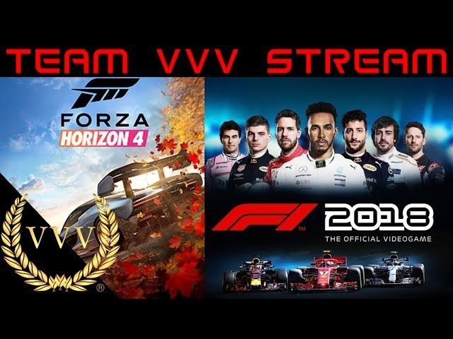 Forza Horizon 4 and F1 2018