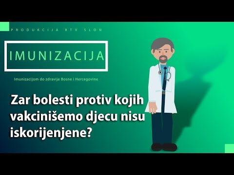 IMUNIZACIJA - Zar bolesti protiv kojih vakcinišemo djecu nisu iskorijenjene?