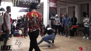 Supreme Beingz Vs Crissy B/Pollo | Top 8 | Energy Leve7 2015 | Pro Breaking Tour | BNC